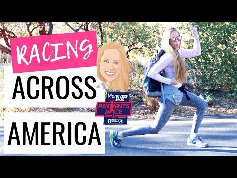 Race Across America!   NYC to Vegas in 6 Days & ONE Payment Type! #PaymentsRace