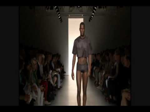 Calvin Klein Menswear Spring Summer 2011 fullshow Part 2 of 2 Video