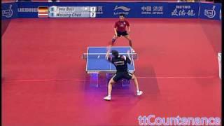 German Open: Timo Boll-Chen Weixing