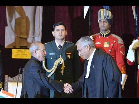 SlideshowHon'bleRastrapathyJi-PAID-tributes-Justice Tirath Singh Thakurwas sworn in.........