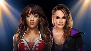 Alicia Fox vs  Nia Jax  Raw~12 Sep~ Raw