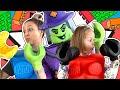 LEGO История Лего Ведьма заколдовала всю семью Амельки Что же с ними случилось Амелька Карамелька mp3