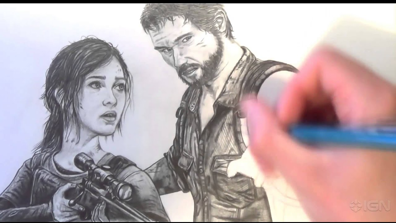 Ellie Drawing Last of us The Last of us Drawing Fan