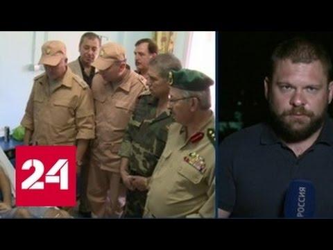 Координатором передачи гумпомощи в Алеппо выступил Евгений Поддубный