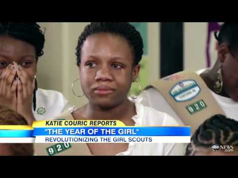 Girl Scout USA Celebrates 100 Years of Girl Scouting- Interview on ABC Good Morning America
