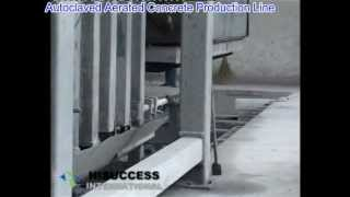 AAC production line, autoclave aerated concrete , light concrete, cellular concrete machine