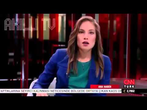 CNN Türk Spikeri - Oğlum Şu Haberleri Düzgün Yaz Lan