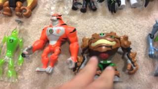 Ben 10 alien character figures Reboot