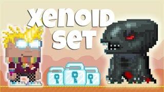 Growtopia   Xenoid Set (NEW RARE SET!)