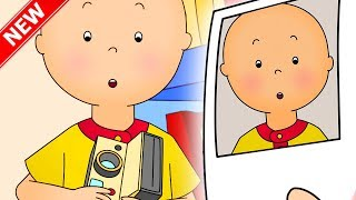 ★NEW★ 📷 Caillou Takes a Selfie 🤳 Funny Animated Videos For Kids | Caillou