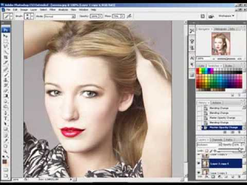 Photoshop - Gossip Girl - Blake Lively [digital beauty]