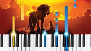 """Remember"" - Hans Zimmer (The Lion King) - EASY Piano Tutorial"