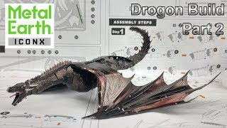 ICONX Build - Drogon - Game of Thrones - Part 2