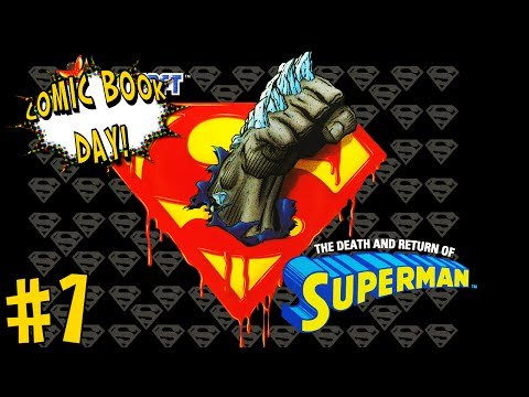 Comic Book Day | The Death and Return of Superman!