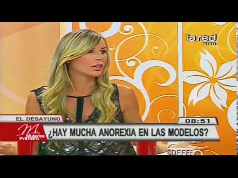 Pilar Jarpa habla sobre la anorexia en el modelaje