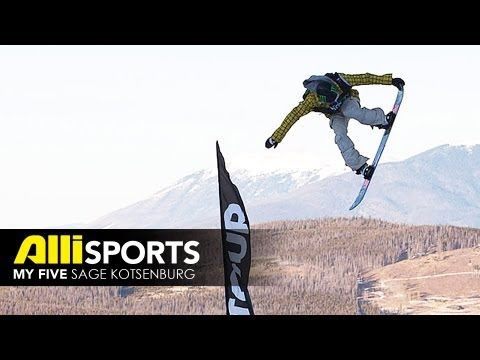 Sage Kotsenburg Five Questions - Alli Sports Snowboard My Five