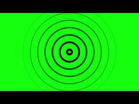 Radio Waves Animation Download-Green Screen Effect
