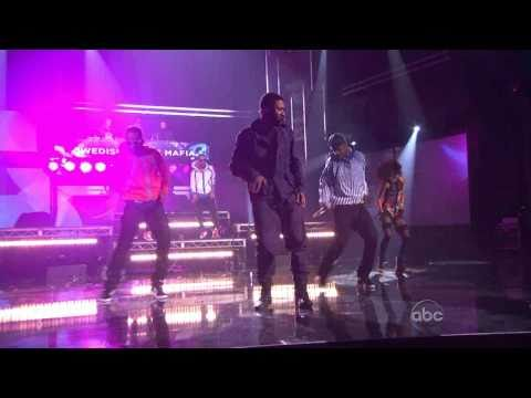 Usher Swedish House Mafia At 2010 American Music Awards 720p