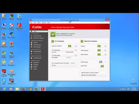 Avira Internet Security 2014 Install with License Keys