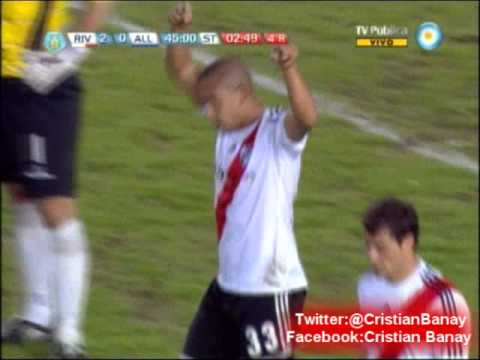 River 2 All Boys 0 (Relato Claudio Cardoso) Torneo Final 2013 Los goles