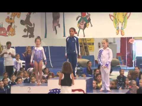 Nathalie 2nd Gymnastics Meet - Level 4 - Marina Del Rey, CA