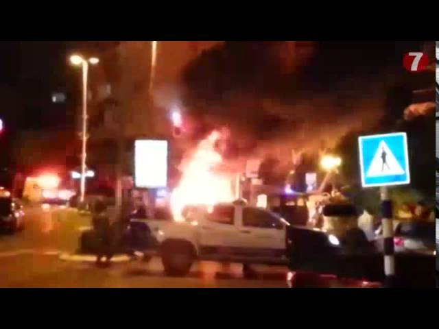 Explosion in Ashdod