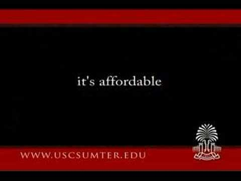 University of South Carolina Sumter Commercial 2