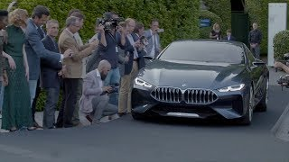 BMW 8 Series Concept unveiled at Concorso d