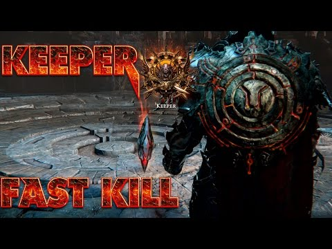 Lords of the Fallen ~ Fast Keeper Battle/Defeat