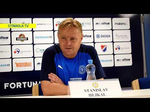 Tisková konference po utkání v Ostravě (26.7.2019)