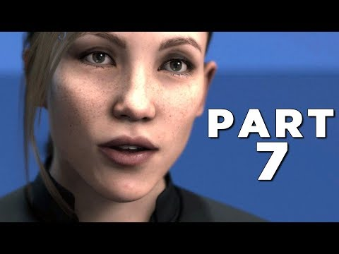 DETROIT BECOME HUMAN Walkthrough Gameplay Part 7 - JERICHO (PS4 Pro)