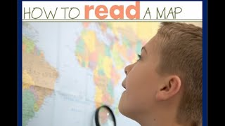 Maps and Cardinal Directions -Reading Maps for kids