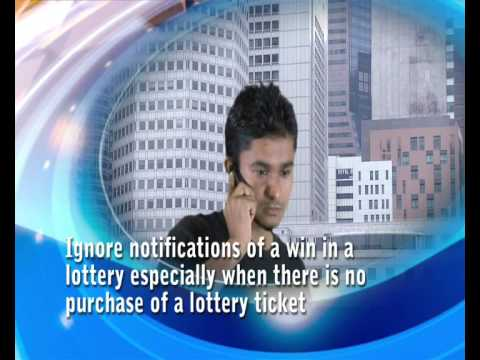 SMS Phone Scam (Lottery Scam)