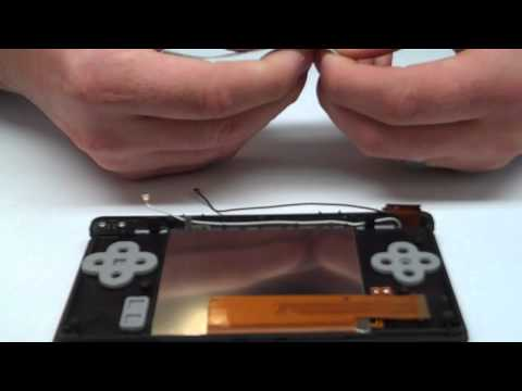How to Repair DS Lite (NDSL) Bottom LCD Screen