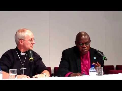 Archbishops of Canterbury and York on women bishops vote