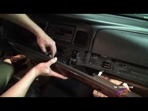 how to change a drive belt on a 2000 ford crown vic how to make