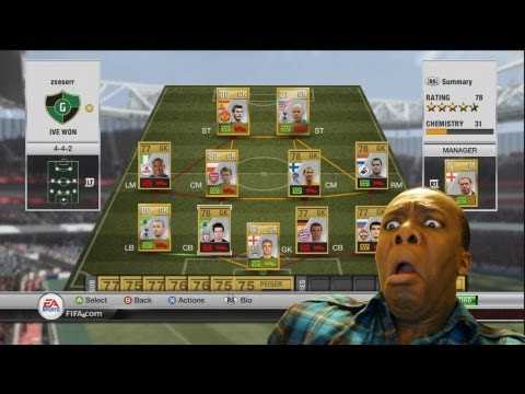 FIFA 12 | Team Full Of Goalkeepers