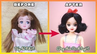 Doll Repaint; Disney Princess Snow White  inspired