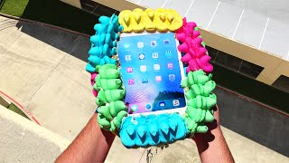 Can 400 Peeps Protect iPad Air from 100 FT Drop Test? - GizmoSlip