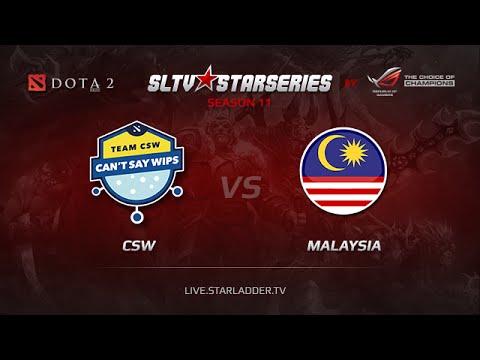 CSW vs  Malasia Starladder XI  SEA Day 8