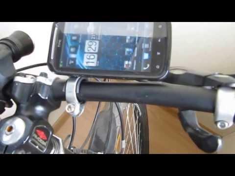 Своими руками держатель телефона на велосипед