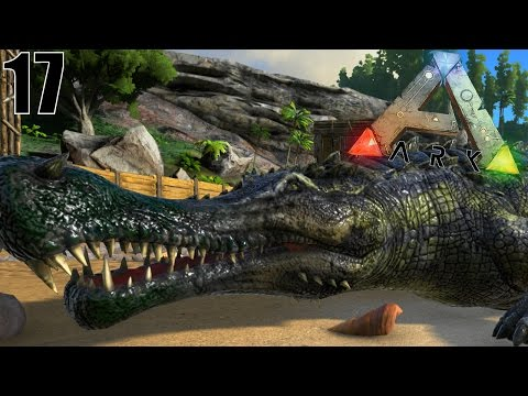 CAPTURE D'UN ALLIGATOR GÉANT ! | ARK: Survival Evolved ! #Ep17