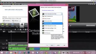 Cắt- ghép - chỉnh sửa video cơ bản với Camtasia Studio 8
