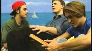 Take That on The Ozone - Interview with Gary, Robbie & Mark - 1993