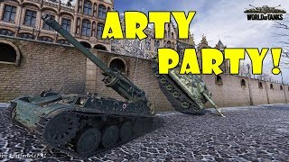 World of Tanks - Funny Moments   ARTY PARTY! #52
