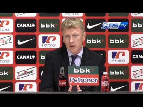 David Moyes, Athletic Club (1-1) Real Sociedad 2015/04/28
