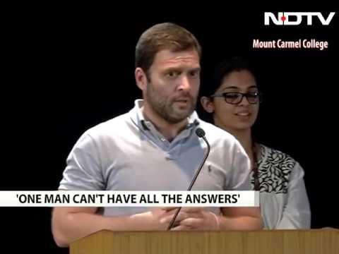 rahul gandhi funny speech