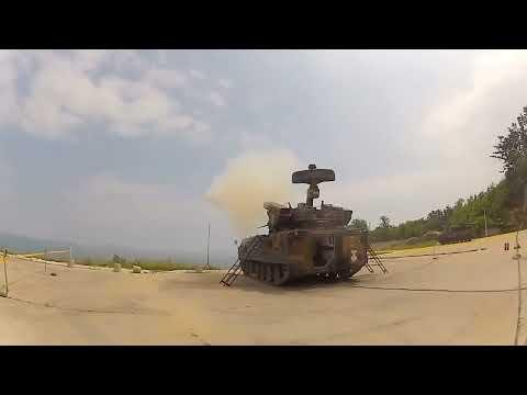 Doosan DST - K-30 Biho 30mm + Missiles Hybrid Self-Propelled Anti-Aircraft System Testing [720p]