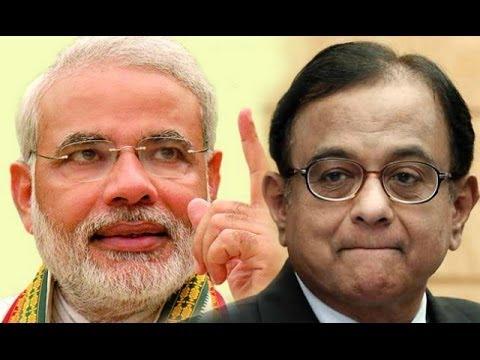 P Chidambaram Hits Out at Narendra Modi