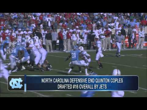 UNC DE Quinton Coples Drafted By Jets